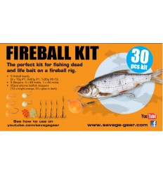 SAVAGE GEAR FIRERBALL KIT