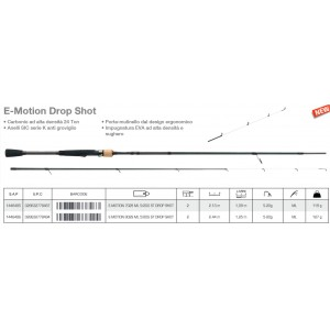Berkley e-motion drop shot 702s ml 5/20gr - berkley