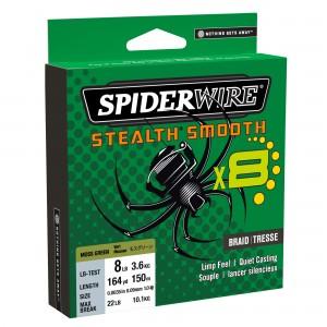 Spiderwire stealth® smooth8 green 0.07 mm 150 mt - spiderwire