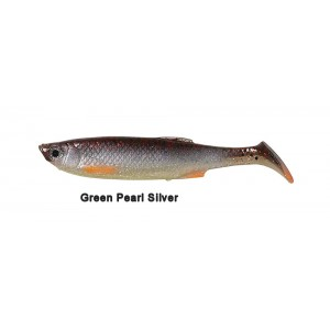 Lb 3d bleak paddle tail 8 cm green pearl silver (5 pezzi) - savage gear