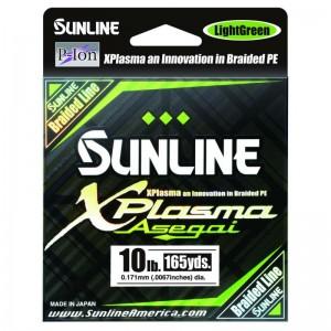 Sunline xplasma asegai coloore light green 150 metri 18 lb - sunline