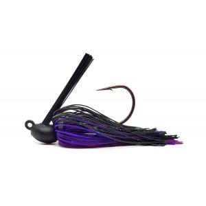 Tungsten jig 1/2 oz - col. j02 - black purple - t3 distribution