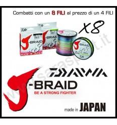 DAIWA J-BRAID X8 300 mt