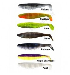 "BERKLEY FLEX SLIM SHAD 6"" colore Smelt"