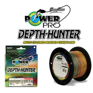 Power pro trecciato depth hunter 150 mt 0,32 mm - power pro