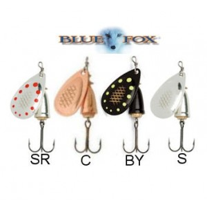 Blue fox shallow super vibrax mis. 4 peso 12 gr col. c - blue fox