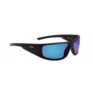 Aqua occhiali polarizzati blackfin lente a specchio - aqua